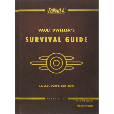 Руководство по игре Prima Games Fallout 4 Vault Dweller's Survival Guide Collector's Edition: Prima Official Game Guide [Hardcover]