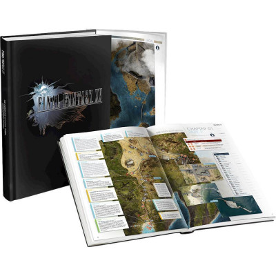 Final Fantasy XV: The Complete Official Guide Collector's Edition [Hardcover]
