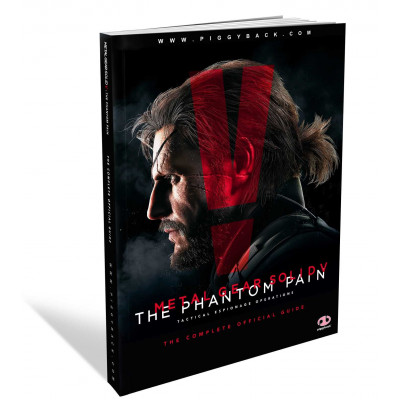 Руководство по игре Piggyback Metal Gear Solid V: The Phantom Pain: The Complete Official Guide [Paperback]