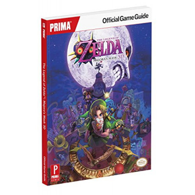 Руководство по игре Prima Games The Legend of Zelda: Majora's Mask 3D: Prima Official Game Guide [Paperback]
