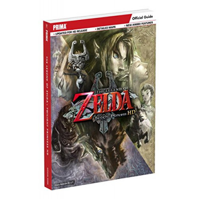Руководство по игре Prima Games The Legend of Zelda: Twilight Princess HD: Prima Official Game Guide [Paperback]