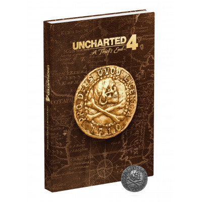 Руководство по игре Prima Games Uncharted 4: A Thief's End Collector's Edition Strategy Guide [Hardcover]