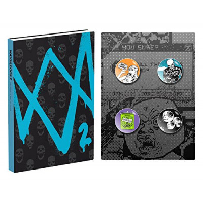 Руководство по игре Prima Games Watch_Dogs 2: Prima Collector's Edition Guide [Hardcover]