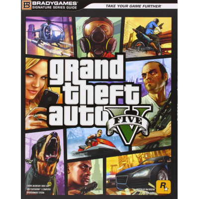 Grand Theft Auto V Signature Series Guide [Paperback]