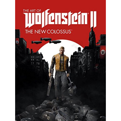 Артбук Dark Horse The Art of Wolfenstein II: The New Colossus [Hardcover]