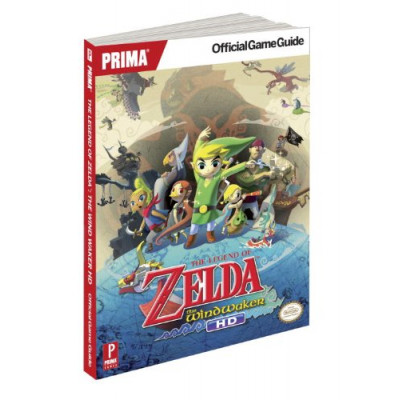 Руководство по игре Prima Games The Legend of Zelda: The Wind Waker: Prima Official Game Guide [Paperback]
