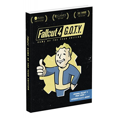 Fallout 4: Game of the Year Edition: Prima Official Guide [Paperback]