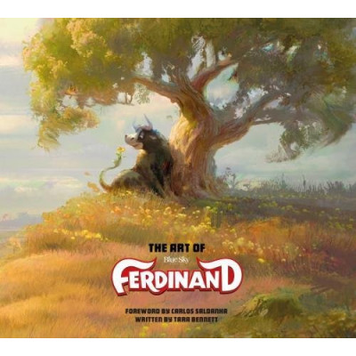 Артбук Titan Books The Art of Ferdinand [Hardcover]