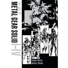 The Art of Metal Gear Solid I-IV [Hardcover]