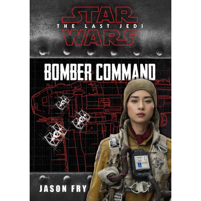 Книга Simon & Schuster Star Wars VIII The Last Jedi: Bomber Command (Replica Journal) [Hardcover]