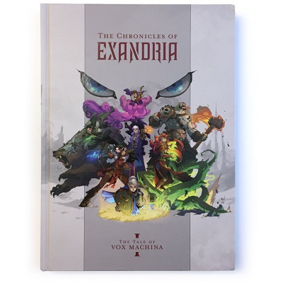 The Chronicles of Exandria: The Tale of Vox Machina Art Book [Hardcover]