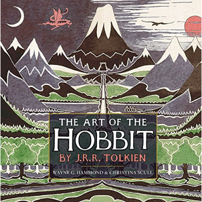 Артбук Houghton Mifflin Harcourt The Art of The Hobbit by J.R.R. Tolkien [Hardcover]