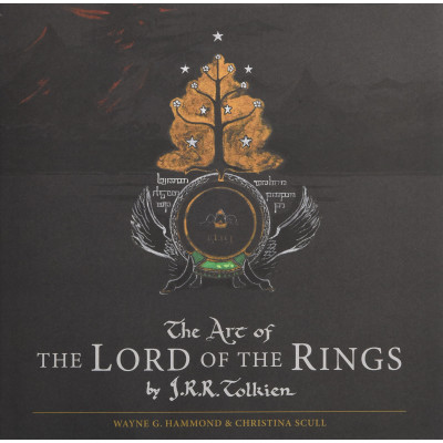 Артбук Houghton Mifflin Harcourt The Art of The Lord of the Rings by J.R.R Tolkien [Hardcover]