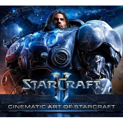 Cinematic Art of StarCraft (Starcraft: Cinimatic Art of) [Hardcover]