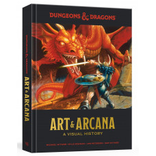 Dungeons and Dragons Art and Arcana: A Visual History [Hardcover]