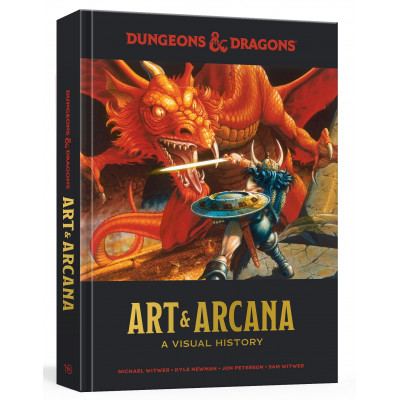 Артбук Dungeons and Dragons Art and Arcana: A Visual History [Hardcover]