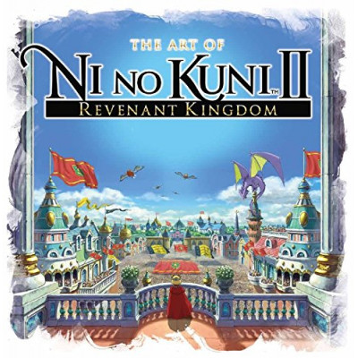 Артбук Titan Books The Art of Ni No Kuni 2: Revenant Kingdom [Hardcover]