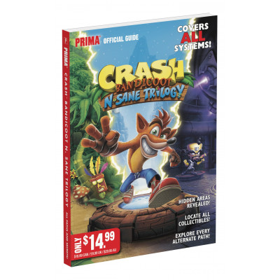 Crash Bandicoot N.Sane Trilogy: Official Guide [Paperback]