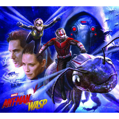 Артбук Marvel Marvel's Ant-Man and the Wasp: The Art of the Movie [Hardcover]
