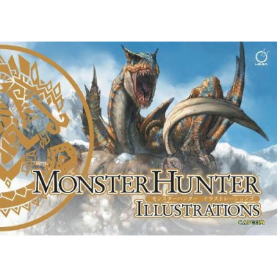 Артбук Udon Monster Hunter Illustrations [Hardcover]