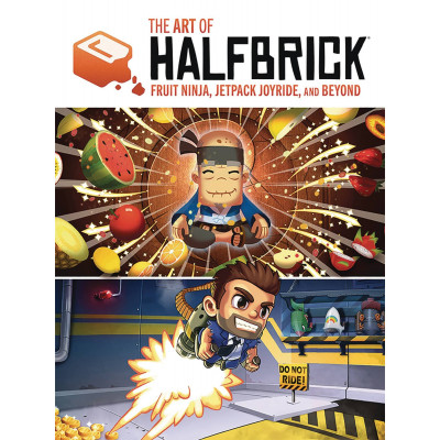 Артбук The Art of Halfbrick: Fruit Ninja, Jetpack Joyride and Beyond [Hardcover]