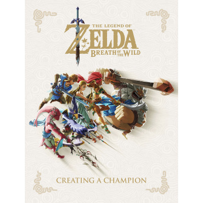Артбук Dark Horse The Legend of Zelda: Breath of the Wild - Creating a Champion [Hardcover]