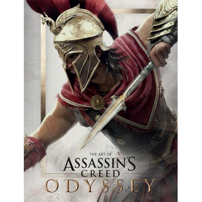 Артбук Titan Books The Art of Assassin's Creed Odyssey [Hardcover]