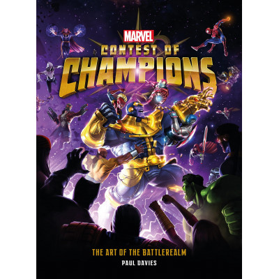 Артбук Titan Books Marvel Contest of Champions: The Art of the Battlerealm [Hardcover]