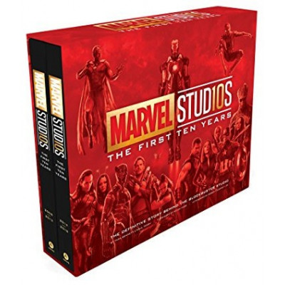 Книга Abrams Marvel Studios: The First Ten Years: The Definitive Story Behind the Blockbuster Studio [Hardcover]
