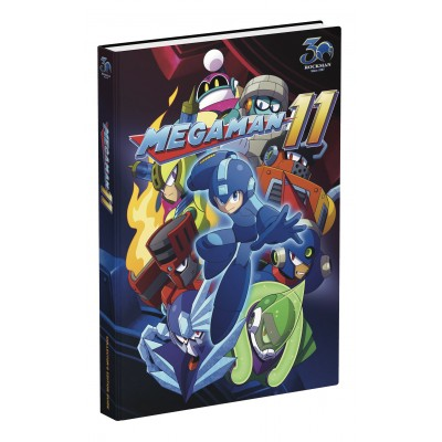 Mega Man 11: Official Collector's Edition Guide [Hardcover]