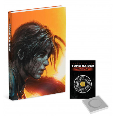 Руководство по игре Prima Games Shadow of the Tomb Raider: Official Collector's Companion Tome [Hardcover]