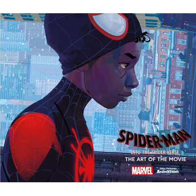 Артбук Titan Books Spider-Man: Into the Spider-Verse - The Art of the Movie [Hardcover]