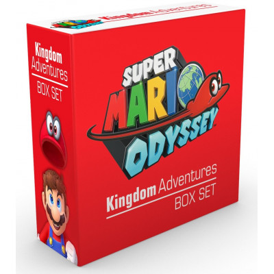 Super Mario Odyssey Kingdom Adventures Box Set [Hardcover]
