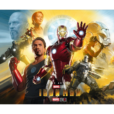 The Art of Iron Man (10th anniversary edition) [Hardcover]