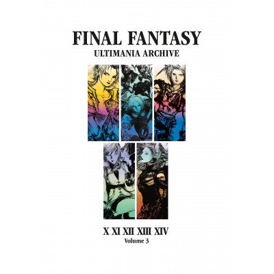 Артбук Dark Horse Final Fantasy Ultimania Archive Volume 3 [Hardcover]