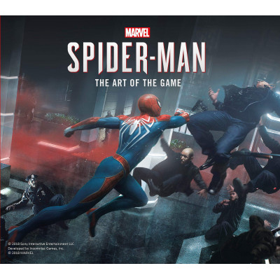 Marvel's Spider-Man: The Art of the Game [Hardcover]