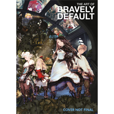 Артбук Dark Horse The Art of Bravely Default [Hardcover]
