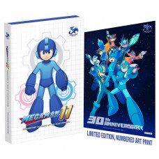 Mega Man 11: Celebrating 30 Years of the Blue Bomber [Hardcover]