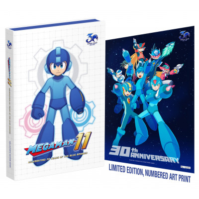 Mega Man 11: Celebrating 30 Years of the Blue Bomber [Hardcover]