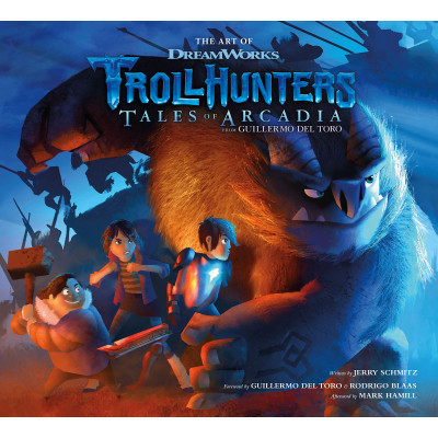 The Art of Trollhunters [Hardcover]
