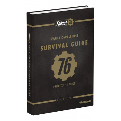 Руководство по игре Prima Games Fallout 76: Official Collector's Edition Guide [Hardcover]