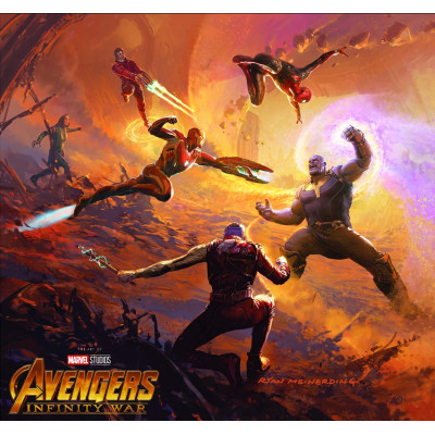 Артбук Marvel Marvel's Avengers: Infinity War - The Art of the Movie [Hardcover]