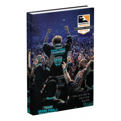Руководство по игре Prima Games Overwatch League Inaugural Season: Official Collector's Edition Guide [Hardcover]