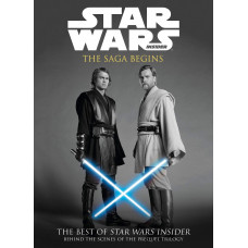 Star Wars: The Saga Begins [Paperback]