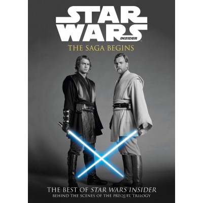 Книга Titan Books Star Wars: The Saga Begins [Paperback]