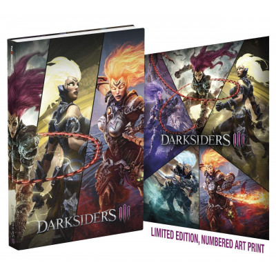 Darksiders III: Official Collector's Edition Guide [Hardcover]