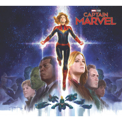 Артбук Marvel Marvel's Captain Marvel: The Art of the Movie [Hardcover]
