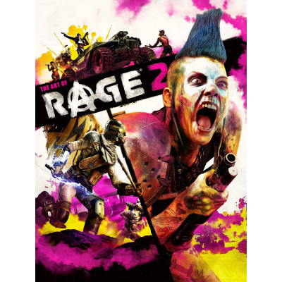 Артбук Dark Horse The Art of RAGE 2 [Hardcover]