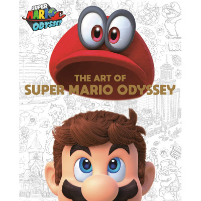 Артбук Dark Horse The Art of Super Mario Odyssey [Hardcover]