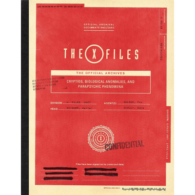 Книга Abrams The X-Files: The Official Archives: Cryptids, Biological Anomalies, and Parapsychic Phenomena [Hardcover]
